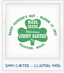 Jimmy Carter Clinton Mass Campaign T-Shirt
