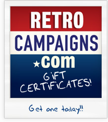 Retro Campaigns T-Shirts Gift Certificates