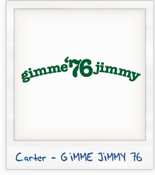 Jimmy Carter 'Gimme Jimmy' 1976 Presidential Campaign T-Shirt