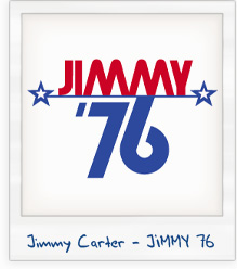 Jimmy Carter 'Jimmy 76' 1976 Presidential Campaign T-Shirt