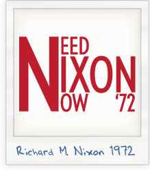 Richard Nixon 1972 Campaign T-Shirt